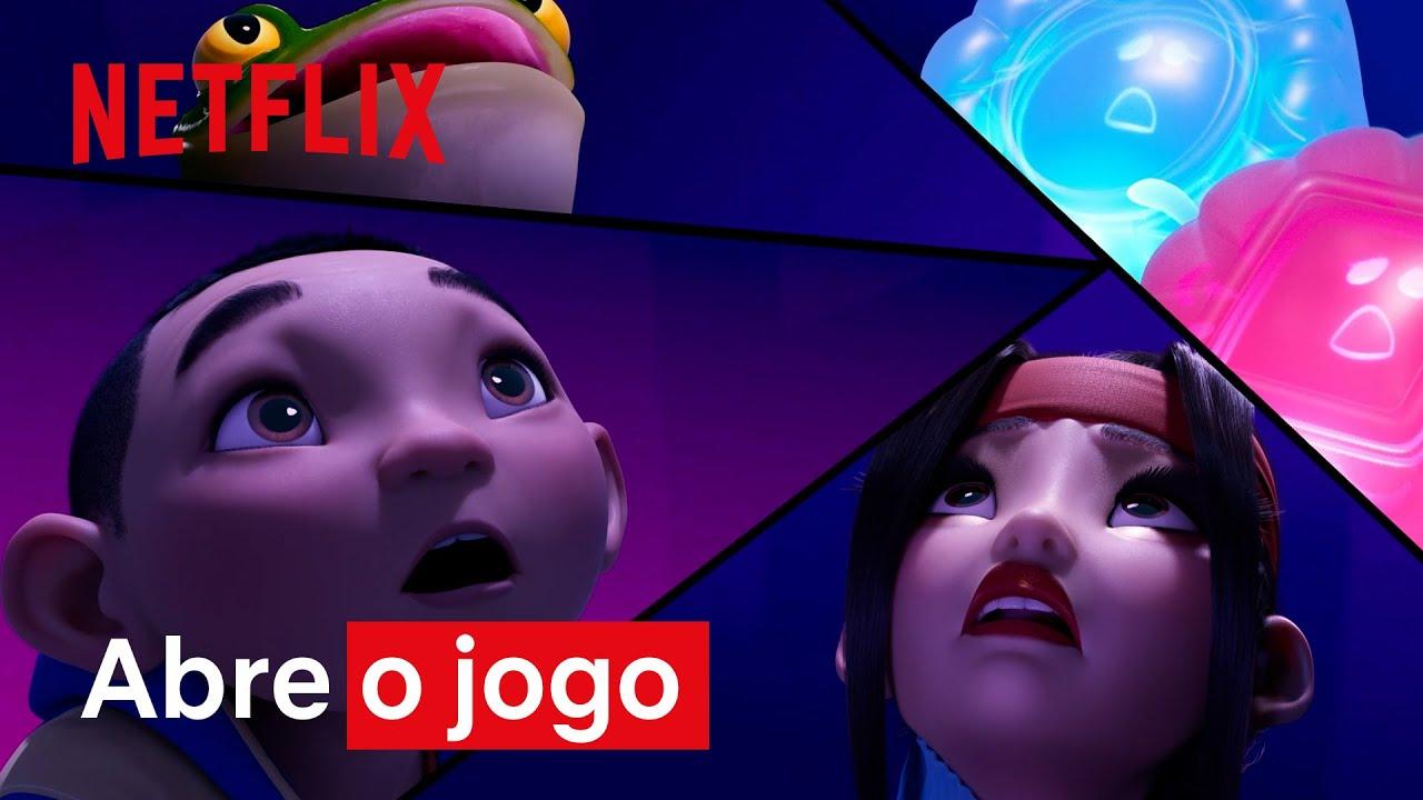 Abra o jogo | Clipe A Caminho da Lua | Netflix Brasil
