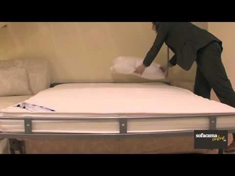 Sof cama moderno muy c modo y de gran dise o youtube - Sofas camas comodos ...