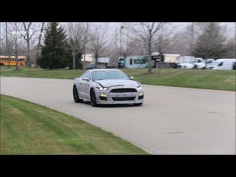 Mustang GT Spy Video