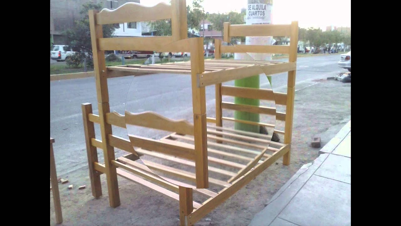 La casa de los colchones camarotes de madera capirona - Colchones karibian ...