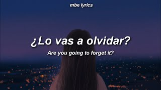 Download Billie Eilish ft Rosalia - Lo Vas A Olvidar | Sub Español / Lyrics