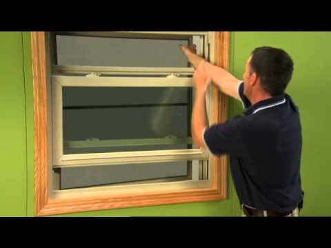 How To Replace The Screen On A Double Hung Window You