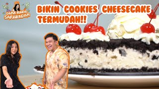 DAPUR BUNDA SARWENDAH - RESEP COOKIES CHEESE CAKE ALA BUNDA DAN UNCLE, SIMPLE DAN ENAK!