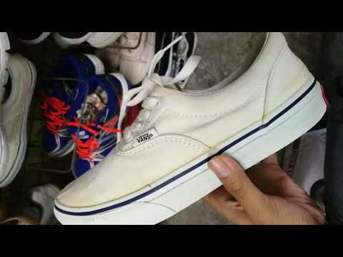 Ukay Restoration: Vans Era (Tissue method)