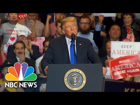 President Donald Trump Holds Campaign Rally In Las Vegas (Full) | NBC News