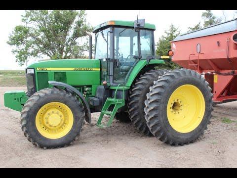 2000 John Deere 7810 Tractor with 2809 Hours Sold on Nebraska Farm Auction Yesterday