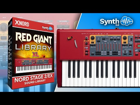 Red Giant Sound Bank - XL BUNDLE - Nord Stage 2 and Nord Electro 5  Synthclound