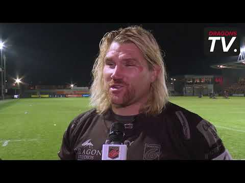 REACTION | Hibbard on Dragons Win Over Castres