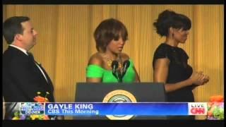 Gayle King & Michelle Obama White House Correspondents' Dinner (April 27, 2013)