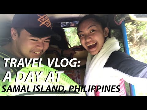 TRAVEL VLOG: A DAY AT SAMAL ISLAND, PHILIPPINES