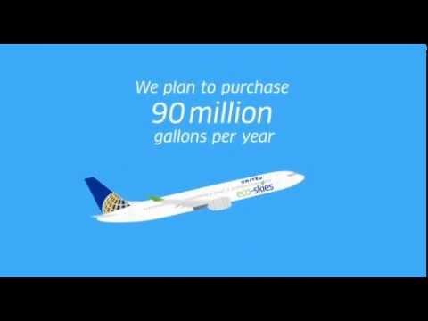 Companhia aérea abastece aviões com lixo