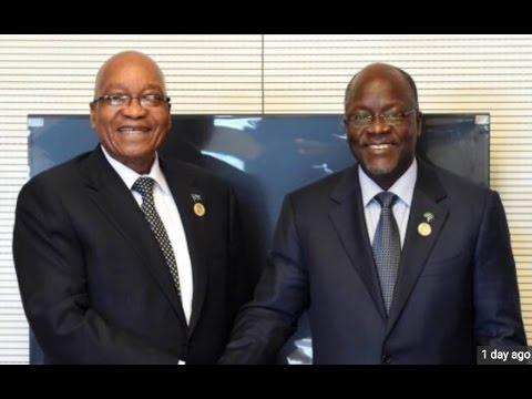 Alichoongea Rais Magufuli kwenye kumkaribisha Jacob Zuma