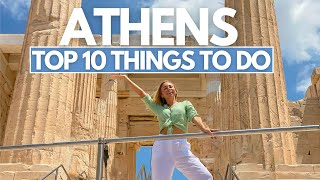 10 THINGS TO DO IN ATHENS, GREECE TRAVEL GUIDE - Food, Attractions and Travel Tips I Greece Travel