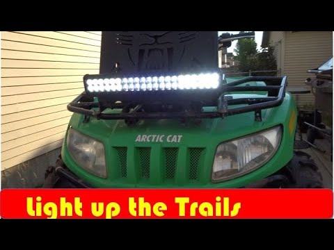 How to install a Light Bar on A ATV DIY - YouTube  Arctic Cat Trv Wiring Diagram on arctic cat 90 wiring diagram, arctic cat 250 wiring diagram, arctic cat 550 efi wiring diagram, arctic cat voltage regulator wiring diagram, arctic cat warn atv winch wiring diagram, 2007 arctic cat 400 wiring diagram, 1972 arctic cat tach wiring diagram, arctic cat 580 efi wiring diagram, arctic cat 400 atv wiring diagram, 1999 arctic cat 400 wiring diagram,