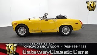 1975 MG Midget Gateway Classic Cars Chicago #984