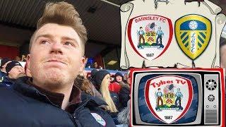 Barnsley 0 Leeds United 2 | Shocking Display! | Matchday Vlog#23