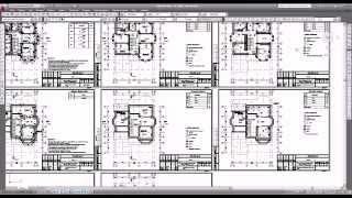 Кладочные и отделочный планы рабочего проекта