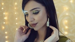 TUTORIAL | Olive Green Eid Look 3