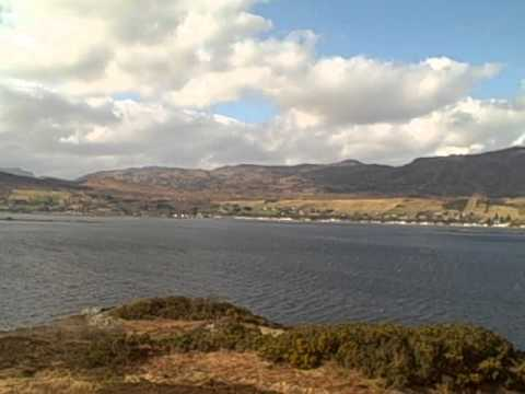 March Loch Carron Scotland