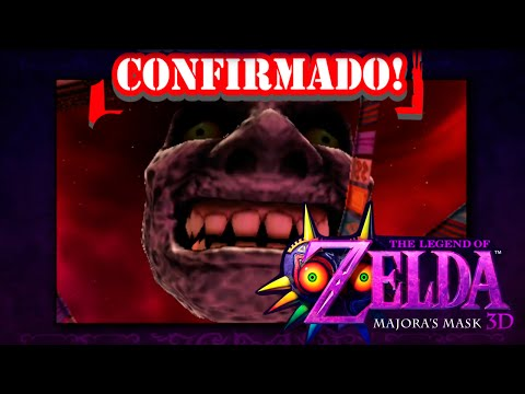 The Legend of Zelda: Majora's Mask 3D - TRAILER - Nintendo 3DS