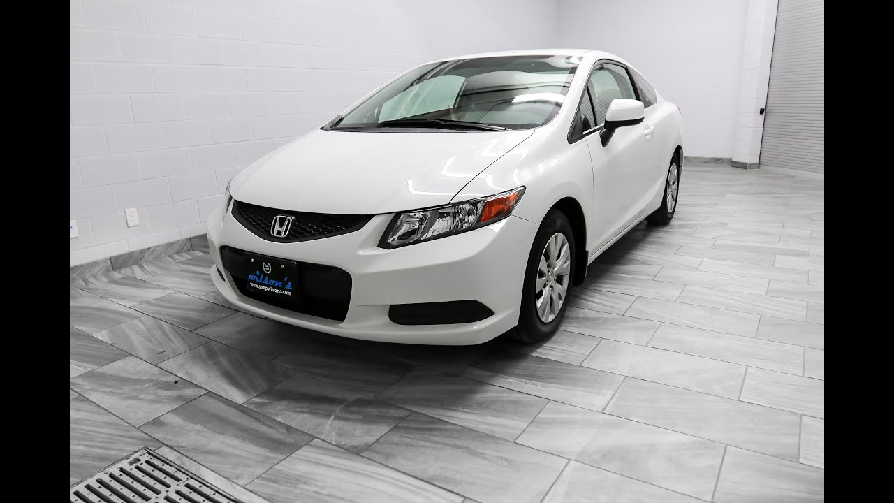 2012 Honda Civic LX COUPE Mark Wilsons Better Used Cars Guelph ...