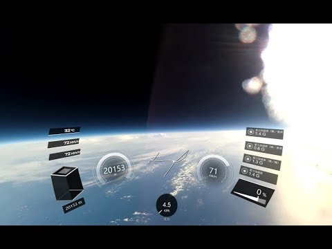 360度全天周 スペースバルーン映像