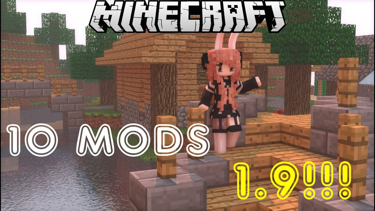 LOS 10 MEJORES MODS PARA MINECRAFT 1.9!!!