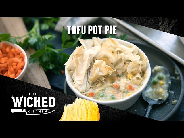 Vegan Tofu Pot Pie | The Wicked Kitchen