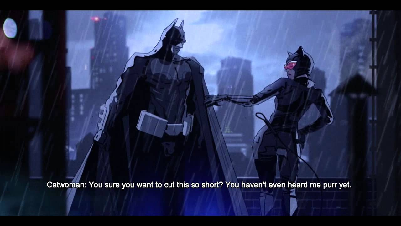Batman Arkham Origins Blackgate - Meet Catwoman - YouTube