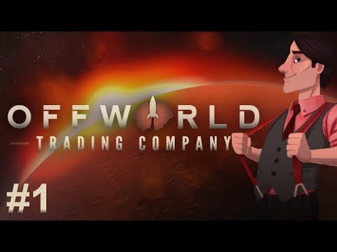 Offworld Trading Company #1 : Corporate Espionage... IN SPAAACE!