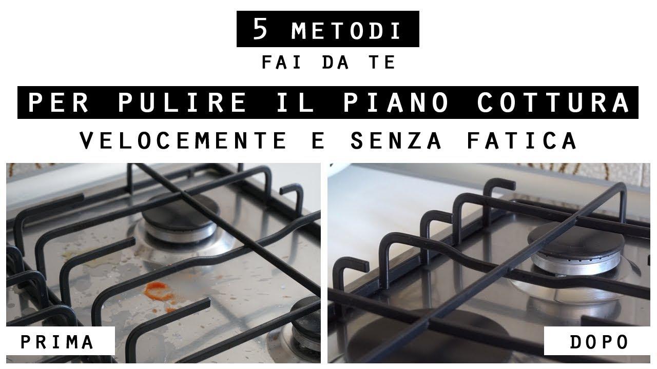 Come Pulire Il Piano Cottura 5 metodi per pulire il piano cottura velocemente e senza fatica/kitchen  cleaning hacks