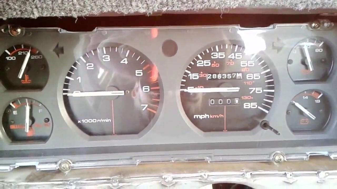 medium resolution of jeep cherokee gauge cluster tach install