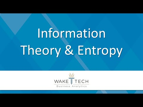 Information Theory and Entropy [BAS 120]