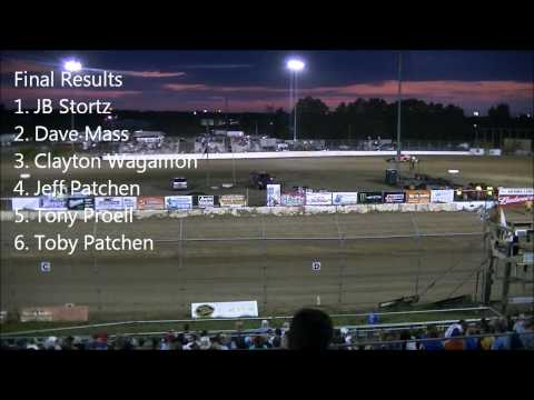 Princeton Speedway 8/31/12 Modified Races