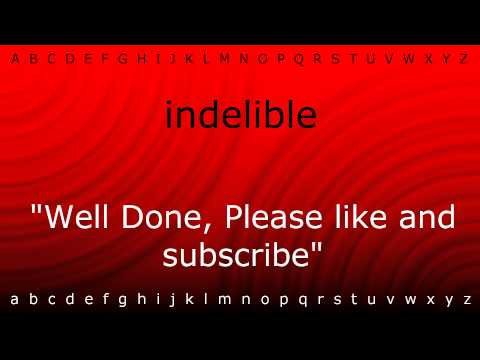 Here I will teach you how to pronounce 'indelible' with Zira.mp4