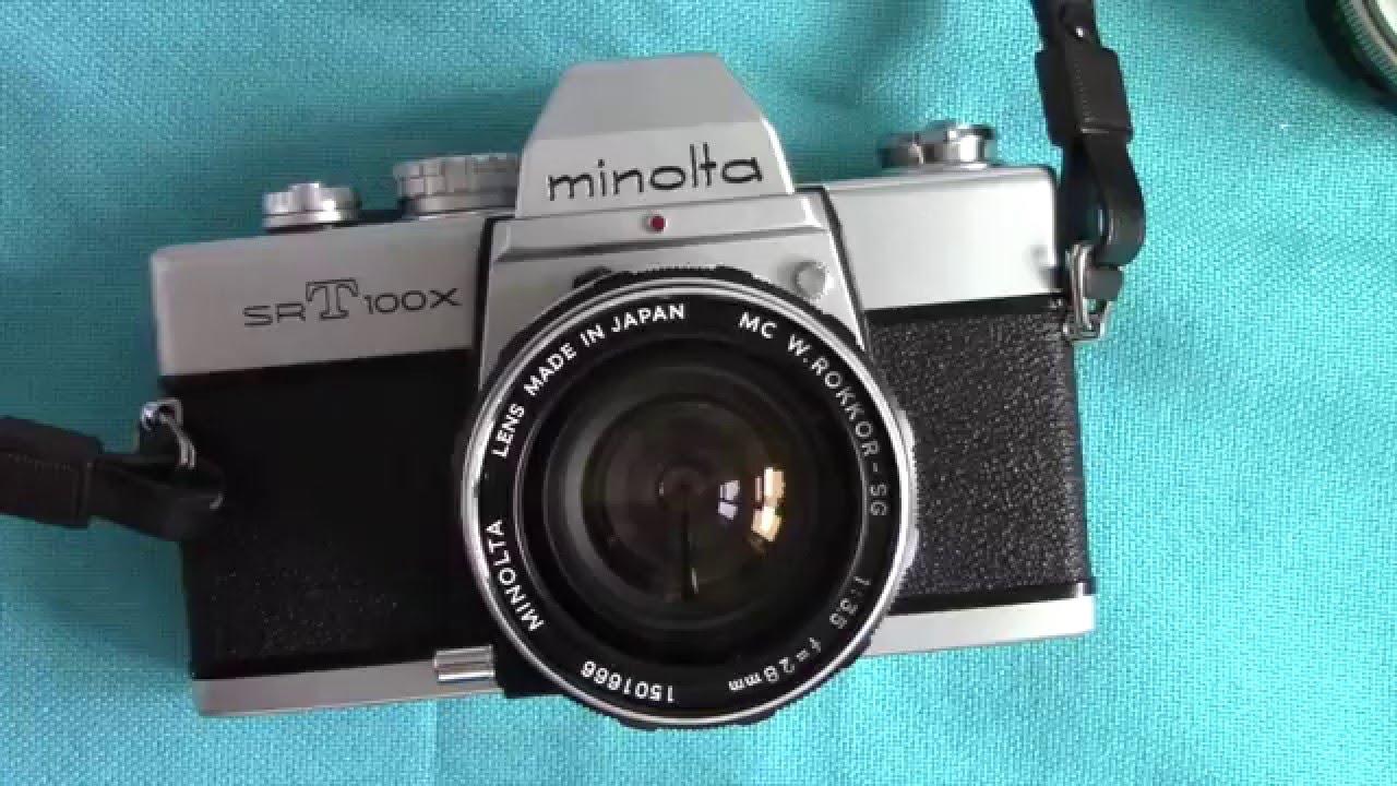 minolta manual focus cameras part 1 youtube rh youtube com minolta camera manual 35mm minolta srt 102 camera manual