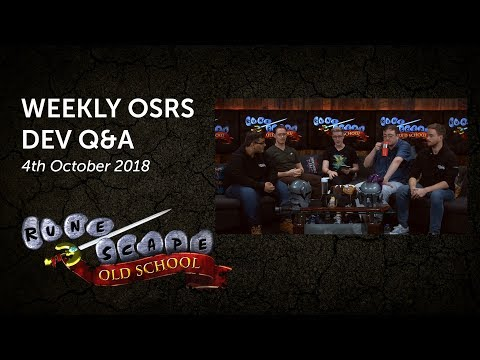 OSRS Q&A - Mobile spellbook, Nexus room, OSRS Wiki, and more!