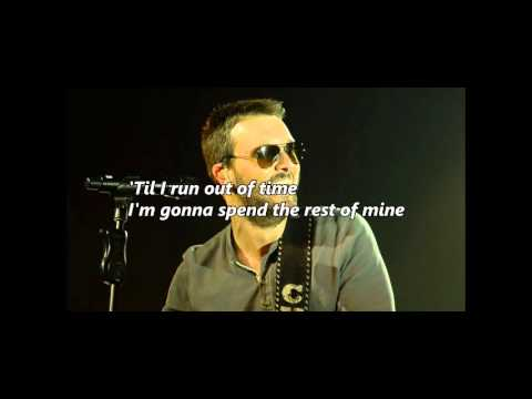 Eric Church - Holdin' My Own (with lyrics)