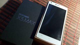 Распаковка Doogee X5 max в белом цвете