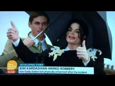 Michael Jackson bodyguard Matt Fiddes live on TV on 'Kardashian robbery'