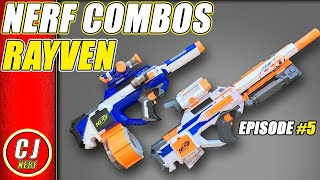 Nerf Rayven Combos | Creative Loadouts for 2018