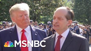 Acosta Joins Lengthy List Of Ignominious Trump Admin Departures | Rachel Maddow | MSNBC