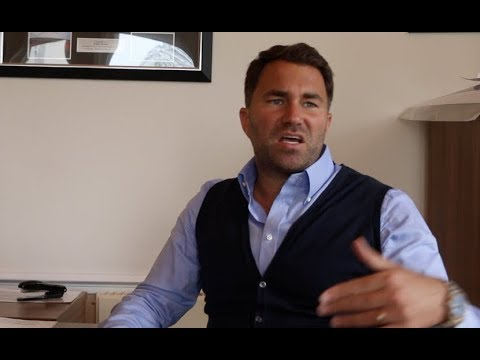 EDDIE HEARN RAW! - GOES IN ON JOSHUA-WILDER, OFFERS/SPLITS/FIGHT WORTH, TYSON FURY, WHYTE, KHAN,