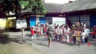 Corps Drumband TPP Al-Firdaus Surakarta - Latihan Sebelum Perform