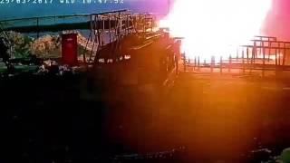 ЧП Ноябрьск человек сгорел заживо взрыв газа.