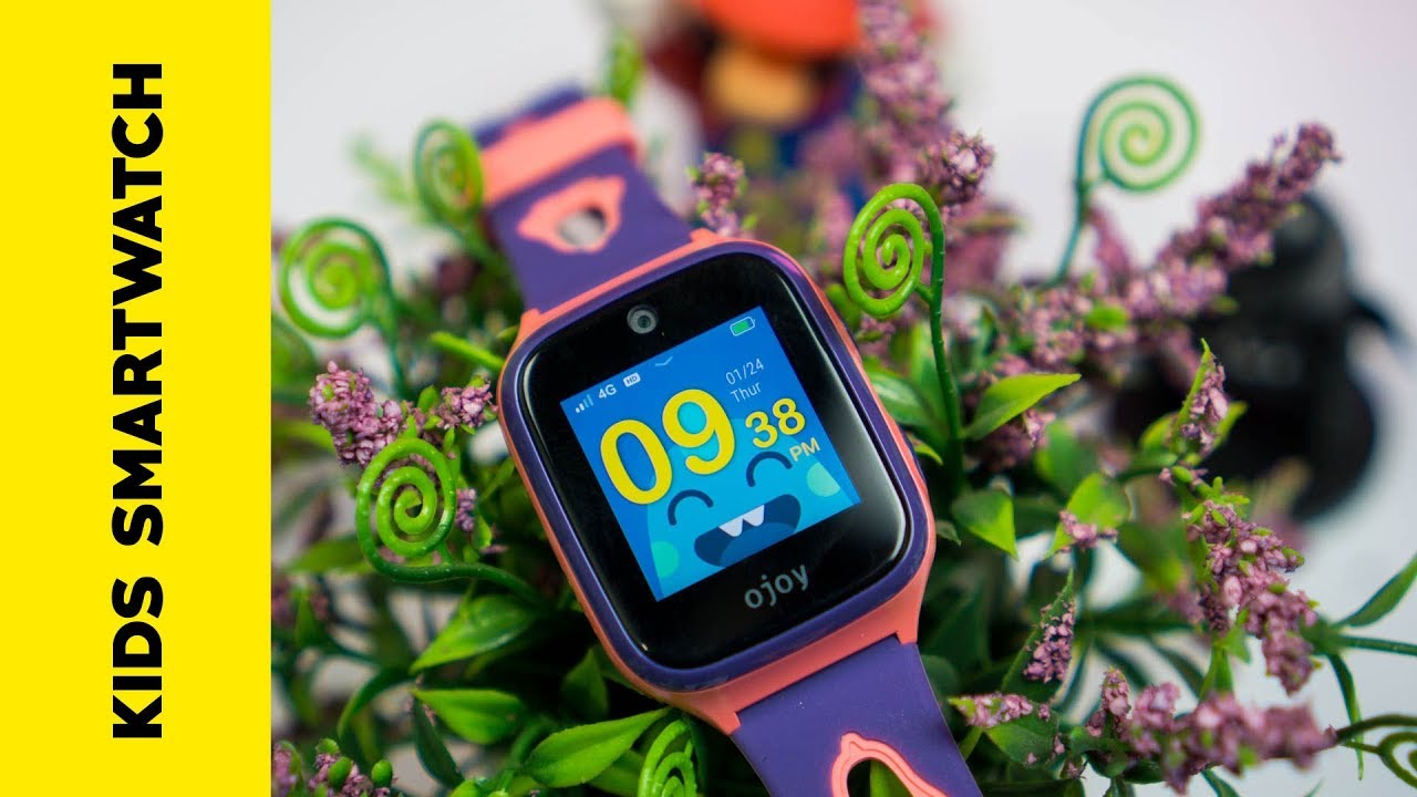 OJOY A1 - Smartwatch for Kids with GPS Tracking and 4G voice calling  features