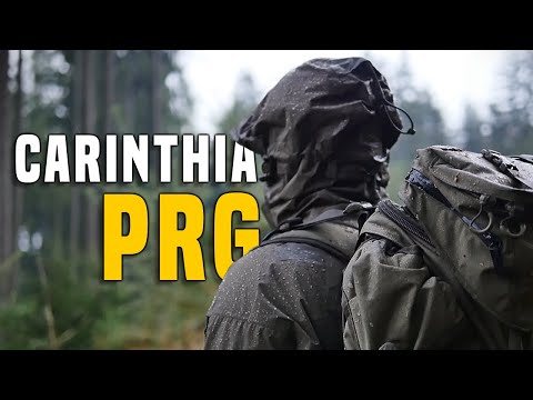 Carinthia PRG Professional Rain Garment   Outdoor Military GEAR Review  GERMAN + (ENGLISH SUBTITLES)