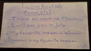 vuclip (2)- تعلم اللغة الإنجليزية من الصفر للمبتدئين - أيام الأسبوع - أشهر السنة و الفصول