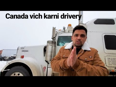 How to get Truck Driving Job IN CANADA/USA
