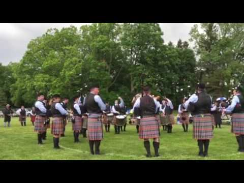 Midlothian Pipe Band Alma 2017 Grade 2 Us Open Medley Contest